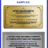 Advance Medical Directive Cards